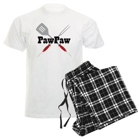 PawPaw BBQ Grilling Men's Light Pajamas