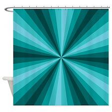 Aqua Illusion Shower Curtain