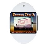 Rosecrans Drive-In Ornament (Oval)