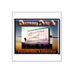 Rosecrans Drive-In Square Sticker 3