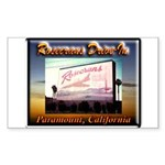 Rosecrans Drive-In Sticker (Rectangle 10 pk)
