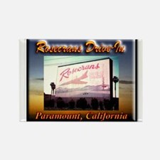 Rosecrans Drive-In Rectangle Magnet