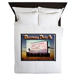 Rosecrans Drive-In Queen Duvet