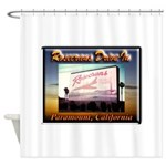 Rosecrans Drive-In Shower Curtain