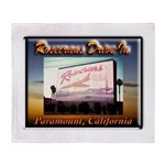 Rosecrans Drive-In Throw Blanket