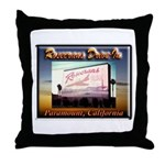 Rosecrans Drive-In Throw Pillow