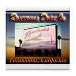 Rosecrans Drive-In Tile Coaster