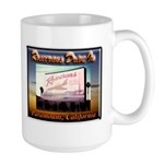 Rosecrans Drive-In Large Mug