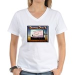 Rosecrans Drive-In Women's V-Neck T-Shirt