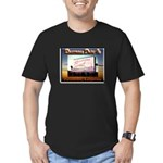 Rosecrans Drive-In Men's Fitted T-Shirt (dark)