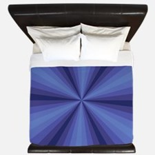 Blue Illusion King Duvet