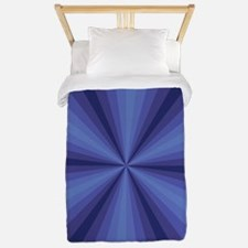 Blue Illusion Twin Duvet