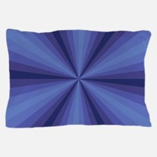 Blue Illusion Pillow Case