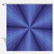 Blue Illusion Shower Curtain