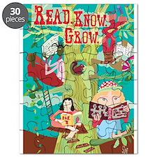 Read Know Grow Tree Puzzle