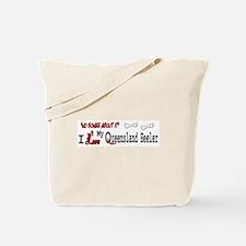 Queensland Heeler Gifts Tote Bag