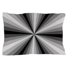 Black Illusion Pillow Case