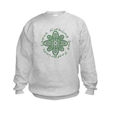 Leave Nothing Boot Green Sweatshirt