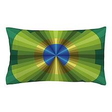Peacock Illusion Pillow Case