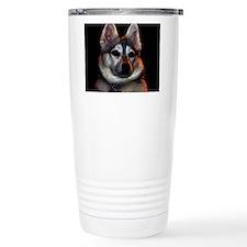 Alaskan Klee Kai golden colors Travel Mug