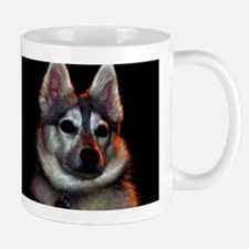 Alaskan Klee Kai golden colors Mug