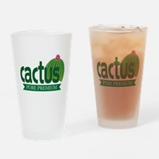 Cactus Drinking Glass
