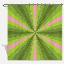 Spring Illusion Shower Curtain