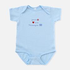 Peace, Love and Nicaragua Infant Bodysuit