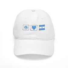 Peace, Love and Nicaragua Baseball Cap