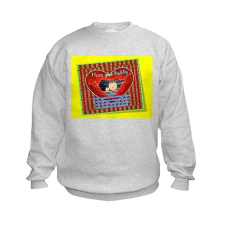 To Father Poem Kids Sweatshirt ~ Personalize It!