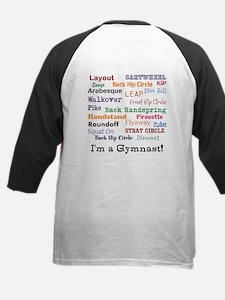 gymnast Tee front/back design