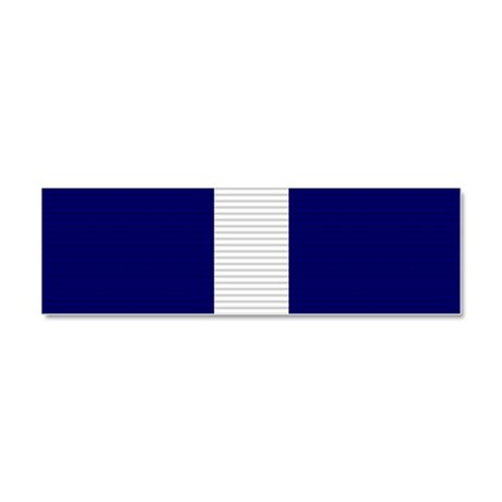 Navy Cross Car Magnet 10 x 3