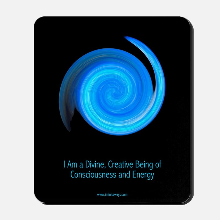 Consciousness and Energy 1 Mousepad