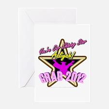Grad Girls Aaliyah: 0003 Greeting Card