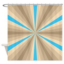 Summer Illusion Shower Curtain