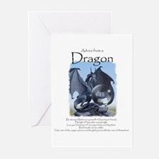 Advice from a Dragon Greeting Cards (Pk of 10)