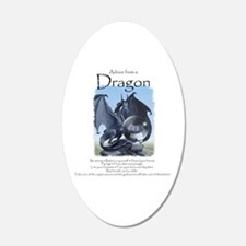 Advice from a Dragon Wall Decal
