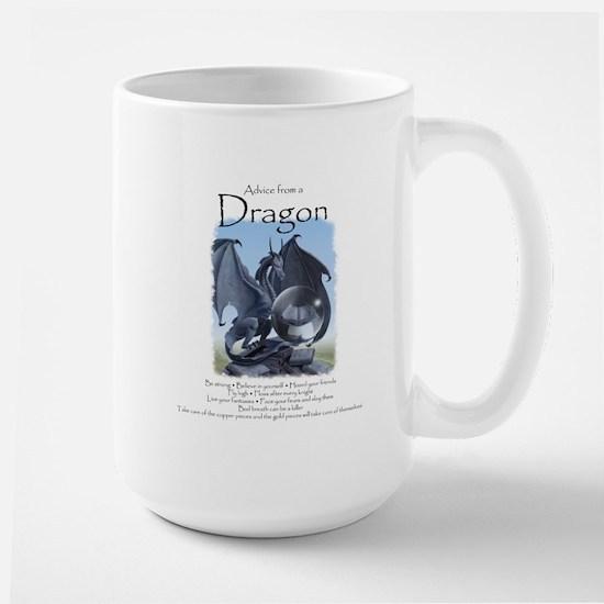 Advice from a Dragon Large Mug