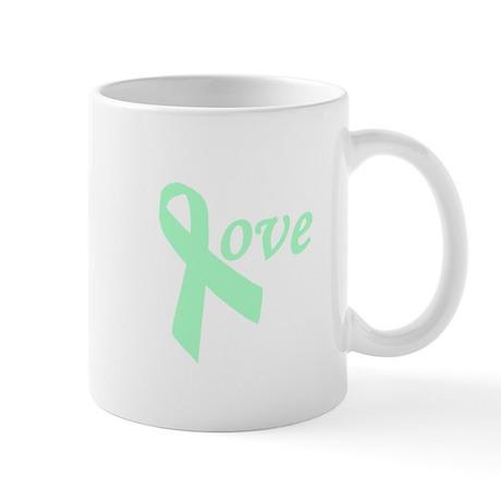 celiac love ribbon Mug