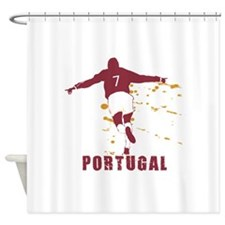 POR5.png Shower Curtain
