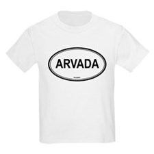 Arvada (Colorado) Kids T-Shirt