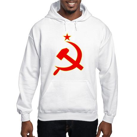 Hammer and Sickle Hooded Sweatshirt