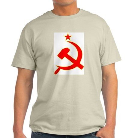 Hammer and Sickle Ash Grey T-Shirt