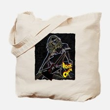 rock chick neon color Tote Bag