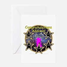 Grad Girls Addison: 0002 Greeting Card