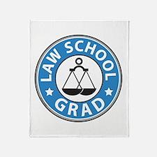Law School Grad Throw Blanket