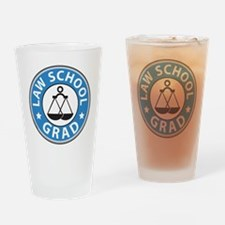 Law School Grad Drinking Glass