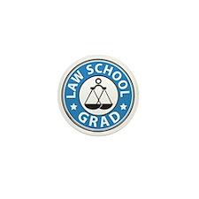 Law School Grad Mini Button