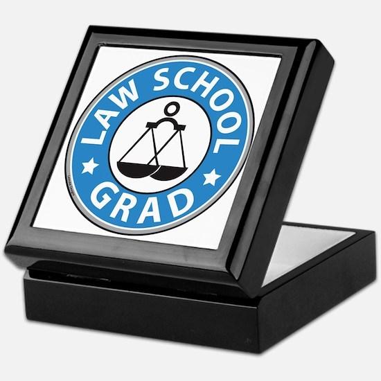 Law School Grad Keepsake Box