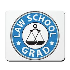 Law School Grad Mousepad